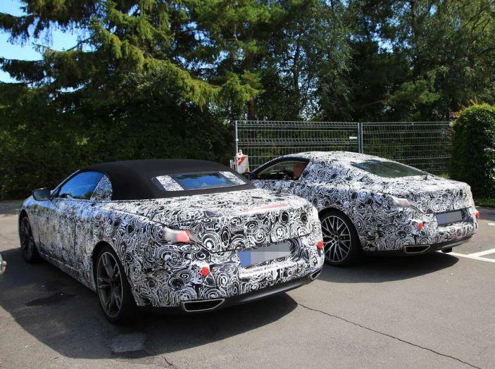 BMW Serie 8 Coupè e Cabrio, nuovi test in vista del debutto - Foto 7 di 17