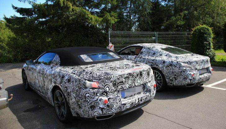 BMW Serie 8 Coupè e Cabrio, nuovi test in vista del debutto - Foto 8 di 17