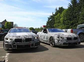 BMW Serie 8 Coupè, test in pista in vista del debutto