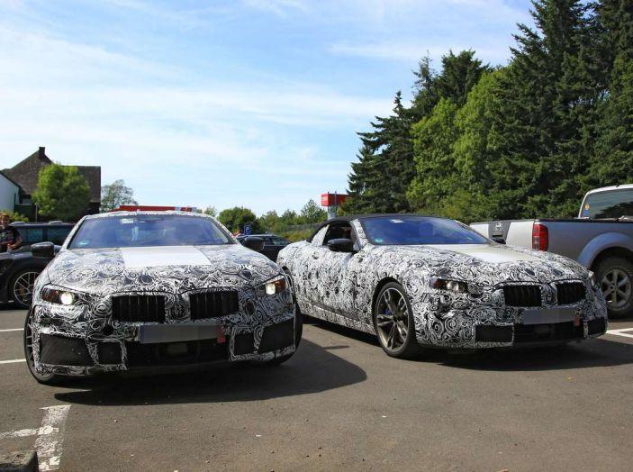 BMW Serie 8 Coupè e Cabrio, nuovi test in vista del debutto - Foto 1 di 17