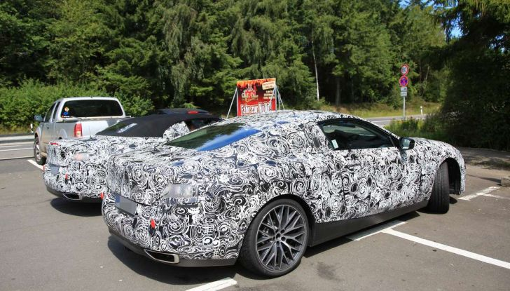 BMW Serie 8 Coupè e Cabrio, nuovi test in vista del debutto - Foto 10 di 17