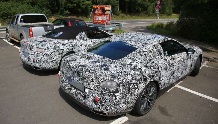 BMW Serie 8 Coupè e Cabrio, nuovi test in vista del debutto - Foto 13 di 17