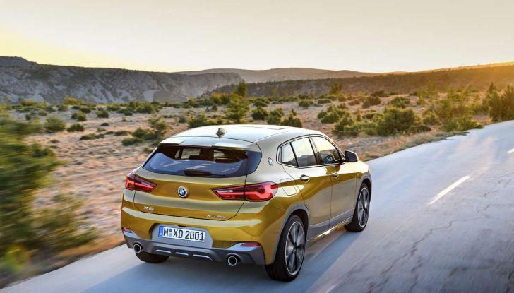 BMW X2, prezzi, informazioni e caratteristiche del SUV - Foto 12 di 29