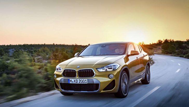 BMW X2, prezzi, informazioni e caratteristiche del SUV - Foto 13 di 29
