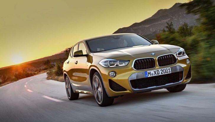 BMW X2, prezzi, informazioni e caratteristiche del SUV - Foto 1 di 29