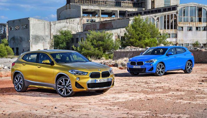 BMW X2, prezzi, informazioni e caratteristiche del SUV - Foto 14 di 29