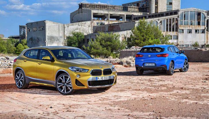 BMW X2, prezzi, informazioni e caratteristiche del SUV - Foto 15 di 29