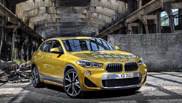BMW X2, prezzi, informazioni e caratteristiche del SUV - Foto 19 di 29