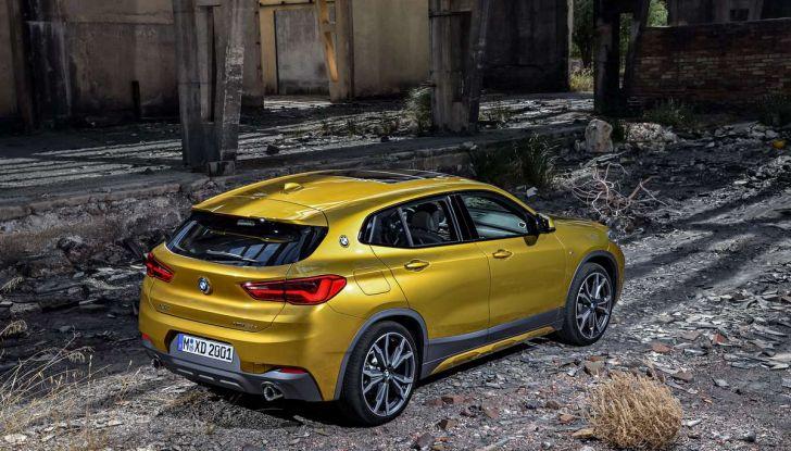 BMW X2, prezzi, informazioni e caratteristiche del SUV - Foto 3 di 29