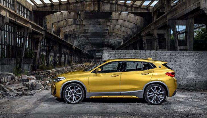 BMW X2, prezzi, informazioni e caratteristiche del SUV - Foto 24 di 29