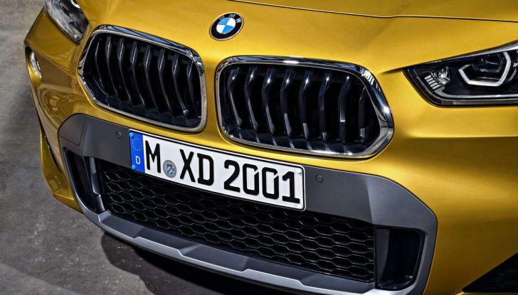 BMW X2, prezzi, informazioni e caratteristiche del SUV - Foto 18 di 29