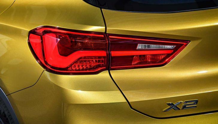 BMW X2, prezzi, informazioni e caratteristiche del SUV - Foto 26 di 29