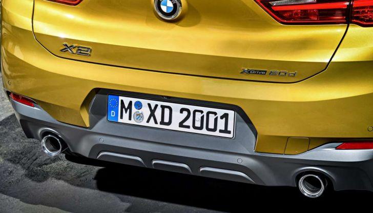 BMW X2, prezzi, informazioni e caratteristiche del SUV - Foto 27 di 29