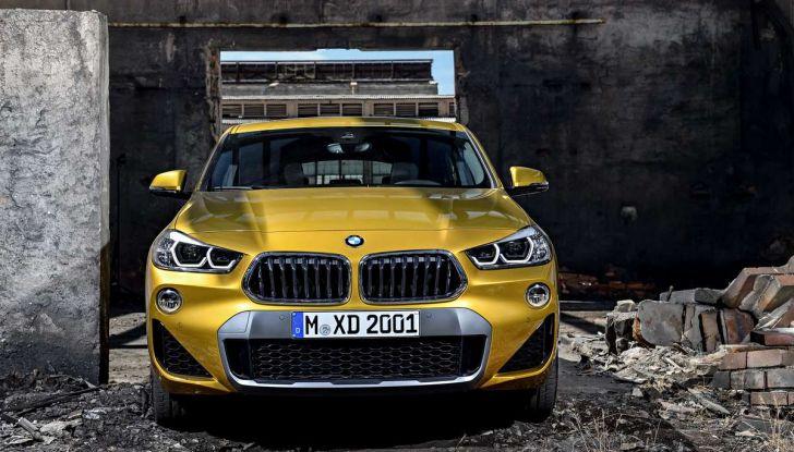 BMW X2, prezzi, informazioni e caratteristiche del SUV - Foto 28 di 29
