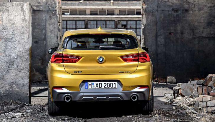BMW X2, prezzi, informazioni e caratteristiche del SUV - Foto 29 di 29