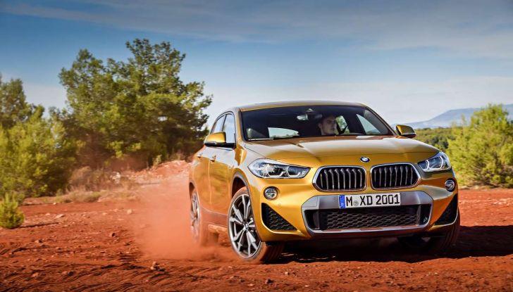 BMW X2, prezzi, informazioni e caratteristiche del SUV - Foto 4 di 29
