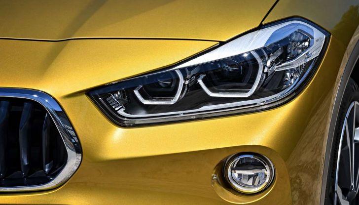 BMW X2, prezzi, informazioni e caratteristiche del SUV - Foto 7 di 29