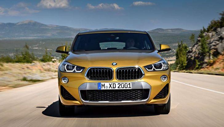 BMW X2, prezzi, informazioni e caratteristiche del SUV - Foto 10 di 29