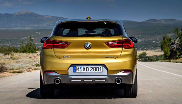 BMW X2, prezzi, informazioni e caratteristiche del SUV - Foto 11 di 29
