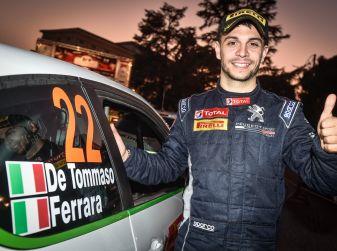 Damiano De Tommaso, il nuovo pilota del team Peugeot Italia nell'R2 2018