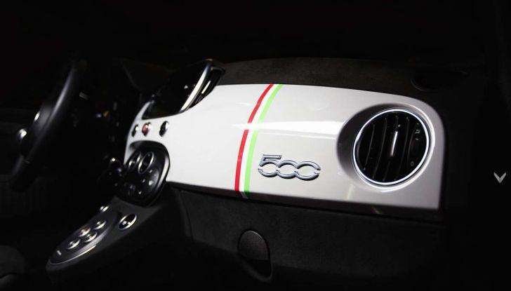 Fiat 500 Abarth 595 by Vilner, la piccola sportiva omaggia il tricolore - Foto 12 di 15