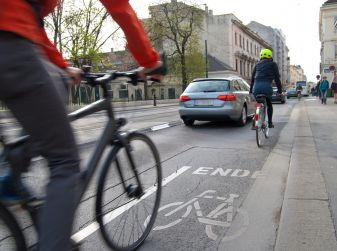 Infrazione in bici, non si rischiano punti della patente