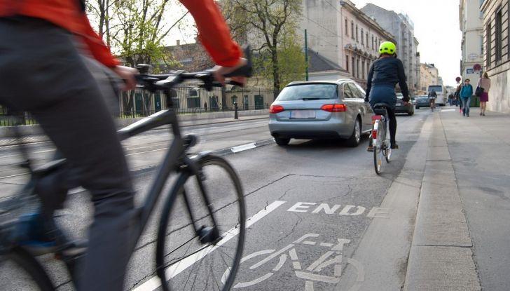 Infrazione in bici, non si rischiano punti della patente - Foto 1 di 7