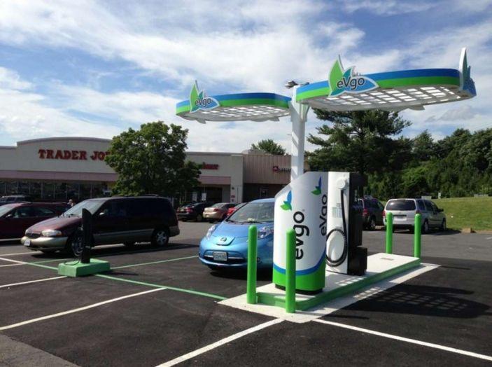 L'auto elettrica si potrà presto caricare al distributore di benzina - Foto 2 di 10