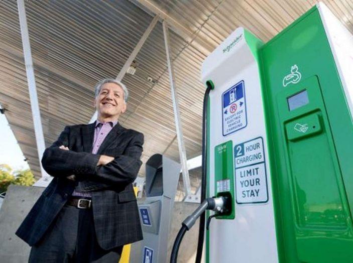 L'auto elettrica si potrà presto caricare al distributore di benzina - Foto 7 di 10