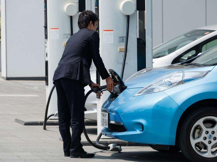 L'auto elettrica si potrà presto caricare al distributore di benzina - Foto 3 di 10