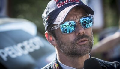Sebastien Loeb (9 volte campione del mondo rally) alla Dakar 2018 con Peugeot 3008DKR Maxi