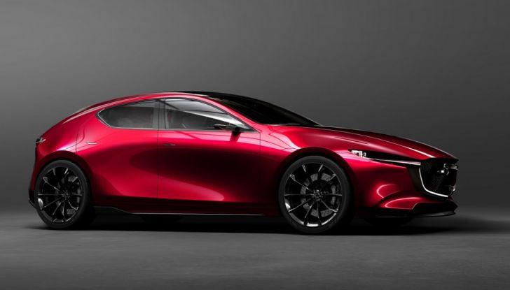 Il Futuro della Mazda 3 al Salone di Tokyo con la Kai Concept - Foto 8 di 14