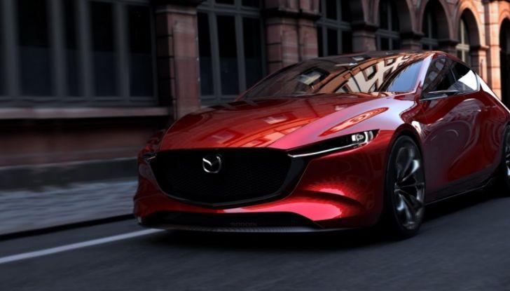 Il Futuro della Mazda 3 al Salone di Tokyo con la Kai Concept - Foto 1 di 14