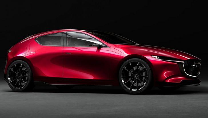 Il Futuro della Mazda 3 al Salone di Tokyo con la Kai Concept - Foto 6 di 14