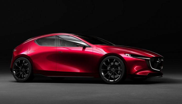 Il Futuro della Mazda 3 al Salone di Tokyo con la Kai Concept - Foto 3 di 14