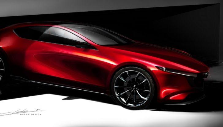 Il Futuro della Mazda 3 al Salone di Tokyo con la Kai Concept - Foto 7 di 14