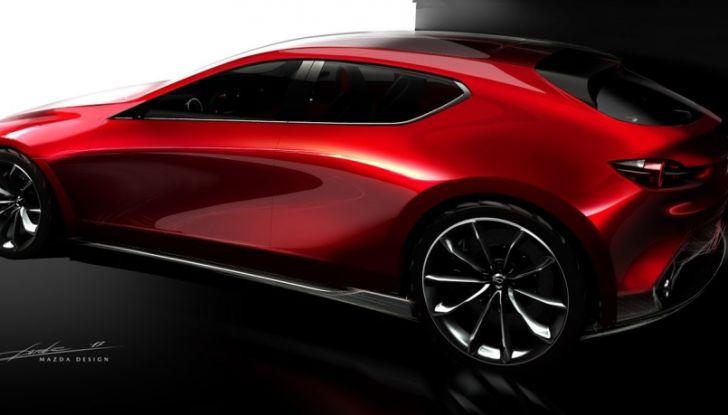 Il Futuro della Mazda 3 al Salone di Tokyo con la Kai Concept - Foto 13 di 14