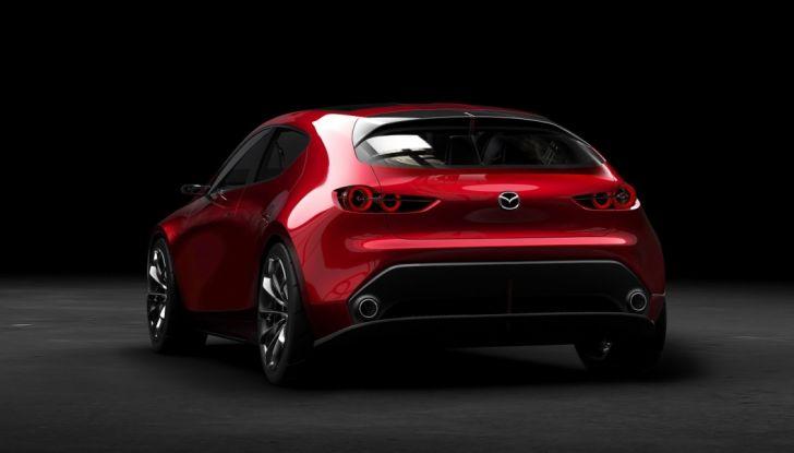 Il Futuro della Mazda 3 al Salone di Tokyo con la Kai Concept - Foto 14 di 14
