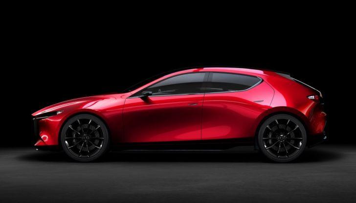 Il Futuro della Mazda 3 al Salone di Tokyo con la Kai Concept - Foto 4 di 14