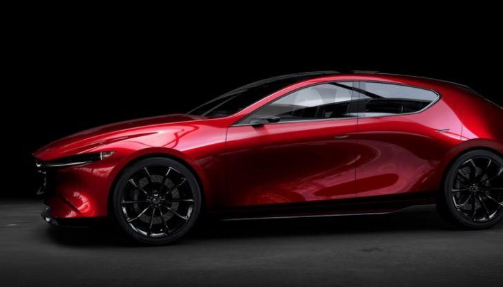 Il Futuro della Mazda 3 al Salone di Tokyo con la Kai Concept - Foto 5 di 14
