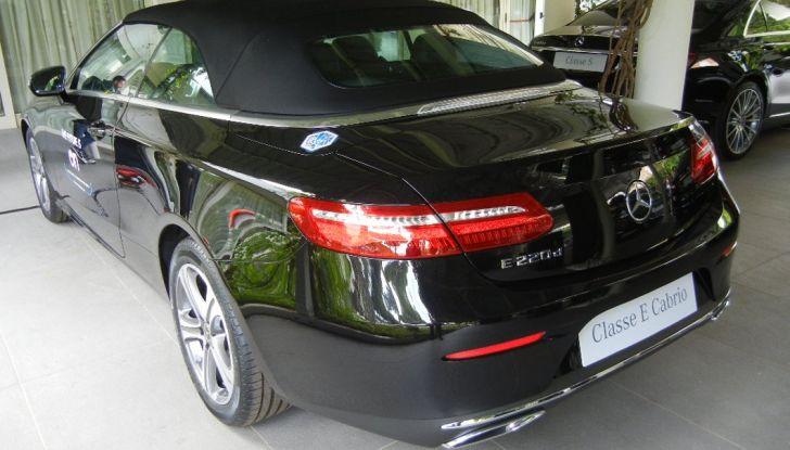 Nuova Mercedes Classe E Cabrio: Prova su strada, caratteristiche e prezzo - Foto 8 di 29