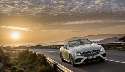 Nuova Mercedes Classe E Cabrio: Prova su strada, caratteristiche e prezzo