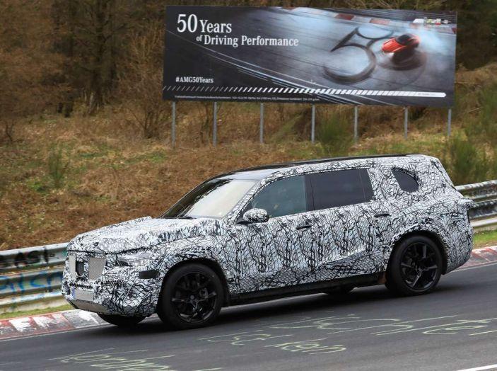 Mercedes GLS 2019, nuove immagini spia del maxi SUV - Foto 3 di 30