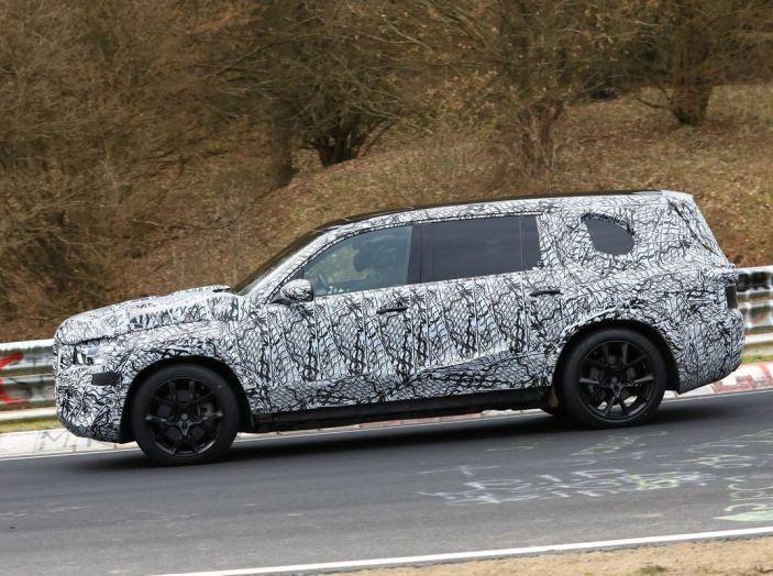 Mercedes GLS 2019, nuove immagini spia del maxi SUV - Foto 28 di 30