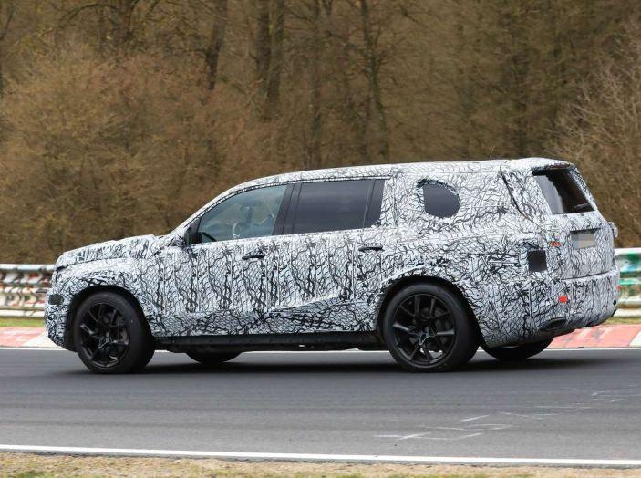 Mercedes GLS 2019, nuove immagini spia del maxi SUV - Foto 6 di 30