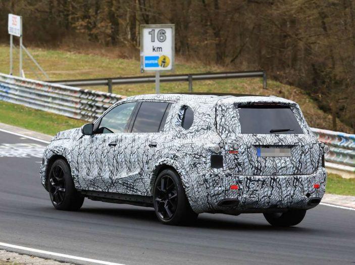 Mercedes GLS 2019, nuove immagini spia del maxi SUV - Foto 29 di 30