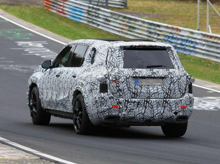 Mercedes GLS 2019, nuove immagini spia del maxi SUV - Foto 9 di 30