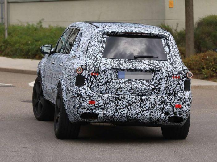 Mercedes GLS 2019, nuove immagini spia del maxi SUV - Foto 7 di 30