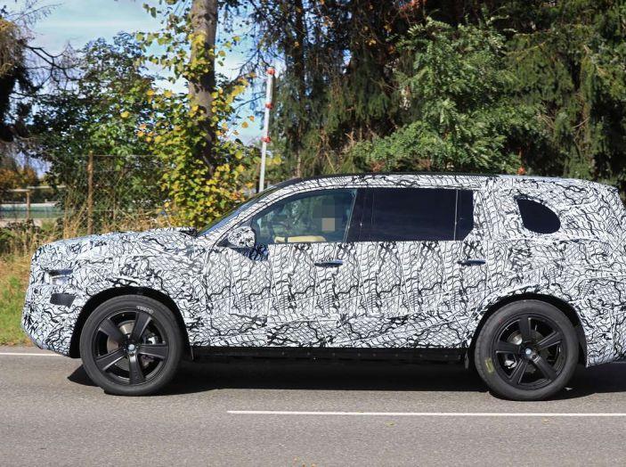 Mercedes GLS 2019, nuove immagini spia del maxi SUV - Foto 8 di 30