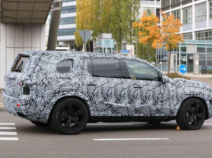 Mercedes GLS 2019, nuove immagini spia del maxi SUV - Foto 19 di 30